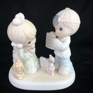 Precious Moments Figurine 20 Years Visions Still